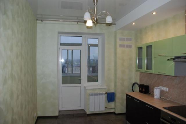 Большая однокомнатная квартира в новом доме с евроремонтом
