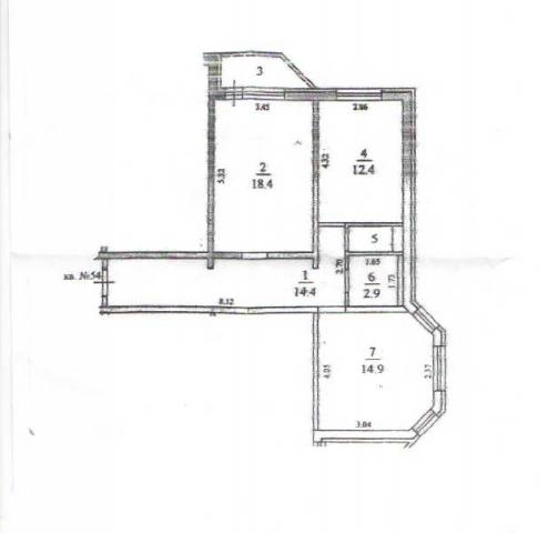 Продам двухкомнатную квартиру Щелково Комсомольская, д.22
