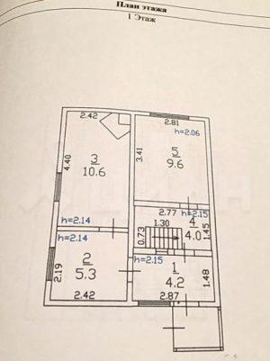 2-этажный дом, 83 м²